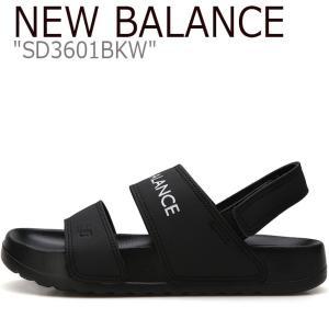 5f23a61d4e571 ニューバランス サンダル NEW BALANCE メンズ レディース SD3601BKW BLACK ブラック NBRJ9S440K シューズ