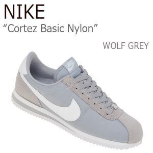 NIKE Cortez Basic Nylon Wolf G...