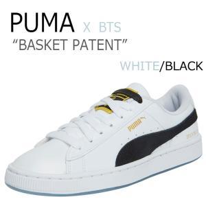 プーマ BTS スニーカー PUMA メンズ レディース BTS BASKET PATENT バスケ...
