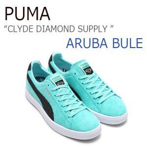 0fd9abe52483 PUMA CLYDE DIAMOND SUPPLY Aruba Blue Puma Black Puma White プーマ ダイアモンド サプライ  363501-01 シューズ スニーカー DIAMONDSUPPLY