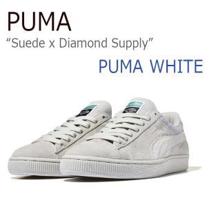 53c58b5a27be PUMA Suede x Diamond Supply Puma White Puma White プーマ ダイアモンドサプライ 36300103  シューズ スニーカー DiamondSupply