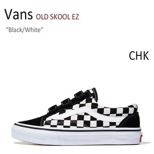 Vans OLD SKOOL EZ/Black/White/CHK【バンズ】【オールドスクール】【V...