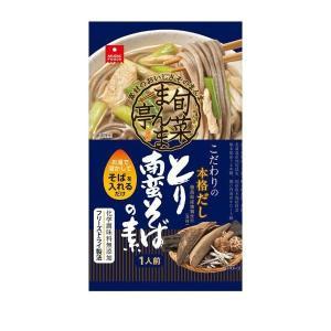 アスザックフーズ フリーズドライ 旬菜まんま亭 とり南蛮そばの素 30食(5食×6箱) 代引き不可