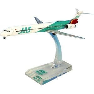 JAL/日本航空 JAS MD-90 6号機 ダイキャストモデル 1/200スケール BJE3039