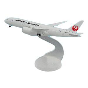 インテリア雑貨 完成品 フィギュアJAL/日本航空 JAL B787-8 ダイキャストモデル 1/6...