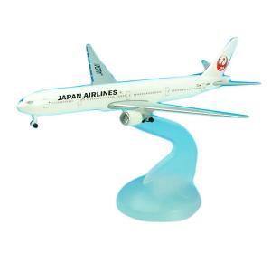 日本航空(JAL)のボーイング777-300を1/600スケールで再現しました。
