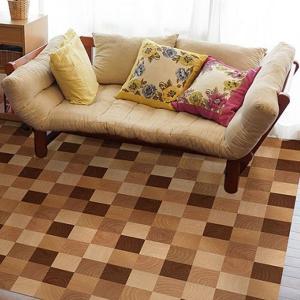 貼ってはがせる!床用 リノベシート 丸木 45cm×180cm Br(ブラウン) REN-10の商品画像|ナビ