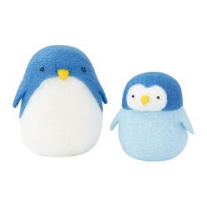 ハマナカ フェルト羊毛キット コロコロゆれる ぷにゅぷにゅマスコット ペンギン H441-448