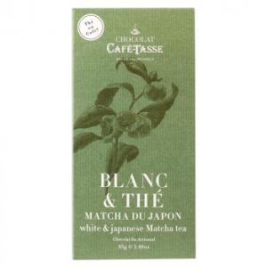 CAFE-TASSE(カフェタッセ) 抹茶ホワイトチョコ 85g×12個セット 代引き不可
