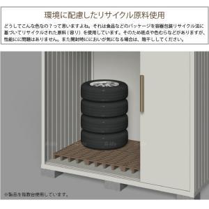 タイヤラック タイヤ収納 物置 タイヤ収納庫 2個 日本製 [ タイヤラック ラック スタッドレスタイヤ ノーマルタイヤ 収納 ガレージ プラスチック|a-life|02