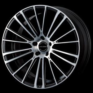 数量限定特価「O・Z/FAVORE」レクサス/トヨタ用20インチホイール(20x8.5J/+43/5穴)(マットブラック/ダイヤモンドカット)x1本|a-line-japan