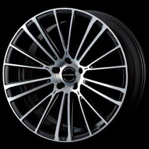 数量限定特価「O・Z/FAVORE」レクサス/トヨタ用20インチホイール(20x8.5J/+30/5穴)(マットブラック/ダイヤモンドカット)x1本|a-line-japan
