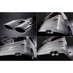 「kspec ヴァリトン」60系ノア&ヴォクシー S/Z(AZR60G)用オーバルダブルマフラー|a-line-japan