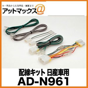 AD-N961 パイオニア Pioneer カロッツェリア carrozzeria 配線キット 日産車用{AD-N961[600]}|a-max