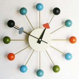 小さな小宇宙、ミッドセンチュリーの代表作 掛け時計 掛け時計 ミッドセンチュリー時代を代表するデザイ...