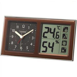 シチズン 置き時計 アナログ 置き時計 デジタル ライフナビ648A  8RE648-A06