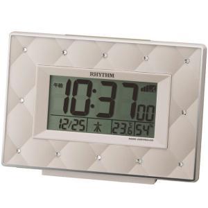 目覚まし時計 デジタル 温湿度 シチズン CITIZEN フィットウェーブアビスコ (8RZ167SR38) 特価25%OFF