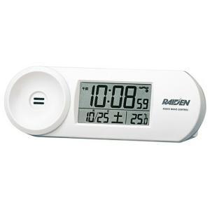 SEIKO セイコー RAIDEN ライデン 目覚まし時計 クォーツ時計 デジタル 大音量 NR532W