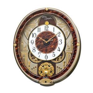 掛け時計 メロディ 掛け時計 セイコー 電波時計 からくり時計 掛時計 電波からくり時計