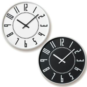 Lemnos 掛け時計 レムノス アナログ 掛時計 「エキクロック」 (TIL16-01)