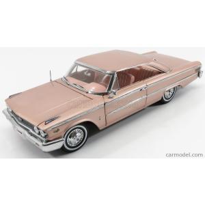 フォード ギャラクシー ミニカー 1/18 SUN-STAR - FORD USA - GALAXIE 500 HARD-TOP 1963 ROSE BEIGE 01467|a-mondo2