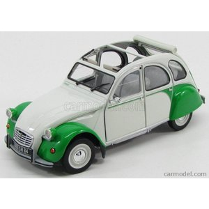 シトロエン 2CV ミニカー 1/18 ノレブ NOREV - CITROEN - 2CV DOLLY 1982 - OPEN ROOF GREY GREEN|a-mondo2