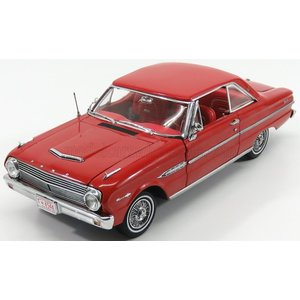 フォード ファルコン ミニカー 1/18 SUN-STAR - FORD USA - FALCON HARD-TOP 1963 RANGOON RED 04544|a-mondo2