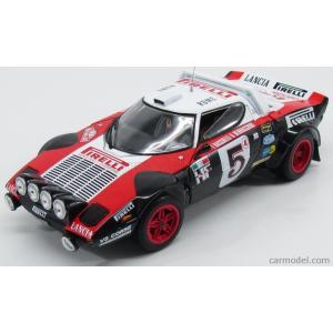 ランチア ストラトス ミニカー 1/18 SUN-STAR - LANCIA - STRATOS HF N 5 RALLY MONTECARLO 1978 F.BACCHELLI - A.BERNACCHINI BLACK WHITE RED|a-mondo2