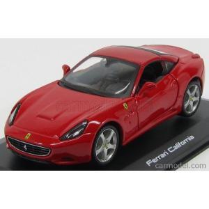 フェラーリ カリフォルニア ミニカー 1/32 ブラーゴ Ferrari California Red  Diecast Model Car by Bburago|a-mondo2