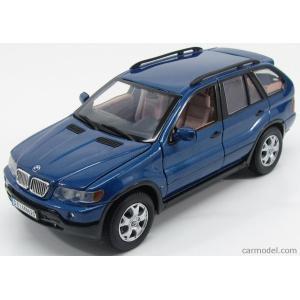 BMW X5 ミニカー 1/18 モーターマックス MOTOR-MAX - BMW - X5 1999 BLUE MET|a-mondo2