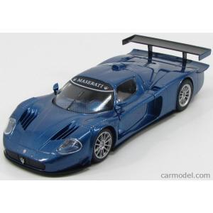 マセラティ MC12 ミニカー 1/24 モーターマックス MOTOR-MAX - MASERATI - MC12 ROAD CAR 2004 BLUE MET|a-mondo2