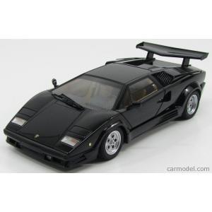 ランボルギーニ カウンタック ミニカー 1/18 オートアート AUTOART - LAMBORGHINI - COUNTACH LP5000S 25th ANNIVERSARY 1982 BLACK|a-mondo2