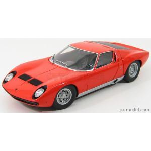 ランボルギーニ ミウラ ミニカー 1/18 オートアート AUTOART - LAMBORGHINI - MIURA SV 1971 ORANGE|a-mondo2