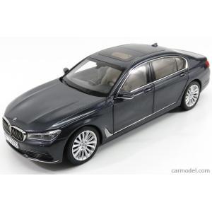 BMW 7シリーズ 750Li ミニカー 1/18 PARAGON-MODELS - BMW - 7-SERIES 750Li XDRIVE G12 LONG VERSION 2016 SOPHISTO GREY MET 80432405585|a-mondo2