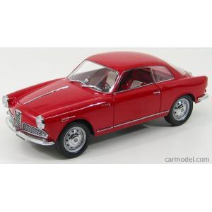 アルファロメオ ジュリエッタ 1300 ミニカー 1/18 MINIMINIERA - ALFA ROMEO - GIULIETTA SPRINT COUPE 1300 1954 RED|a-mondo2