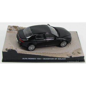 アルファロメオ 159 ボンドカー ミニカー 1/43 EDICOLA - ALFA ROMEO - 159 2006 - 007 JAMES BOND - QUANTUM OF SOLACE BLACK|a-mondo2