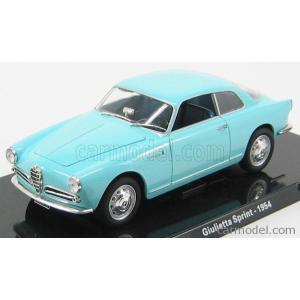 アルファロメオ ジュリエッタ ミニカー 1/24 EDICOLA - ALFA ROMEO - GIULIETTA SPRINT 1954|a-mondo2