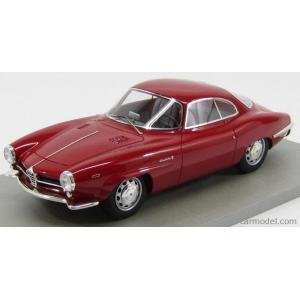 アルファロメオ ジュリア ミニカー 1/18 TECNOMODEL - ALFA ROMEO - GIULIA SS SUPER SPRINT 1.6 1963 ALFA RED|a-mondo2