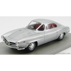アルファロメオ ジュリア ミニカー 1/18 TECNOMODEL - ALFA ROMEO - GIULIA SS SUPER SPRINT 1.6 1963 SILVER|a-mondo2