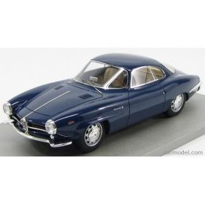 アルファロメオ ジュリア ミニカー 1/18 TECNOMODEL - ALFA ROMEO - GIULIA SS SUPER SPRINT 1.6 1963 BLUE|a-mondo2
