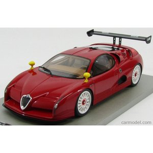 アルファロメオ ミニカー 1/18 TECNOMODEL - ALFA ROMEO - SCIGHERA RACING N 0 1997 ALFA RED|a-mondo2
