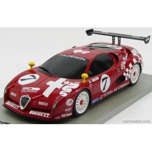 アルファロメオ ミニカー 1/18 TECNOMODEL - ALFA ROMEO - SCIGHERA GT RACING N 7 1997 RED|a-mondo2