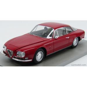 アルファロメオ 2600 ミニカー 1/18 TECNOMODEL - ALFA ROMEO - 2600 SZ SPRINT COUPE ZAGATO 1967 RED|a-mondo2