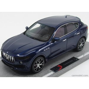 マセラティ レヴァンテ SUV ミニカー 1/18 BBR-MODELS - MASERATI - LEVANTE 2016 BLUE MET|a-mondo2