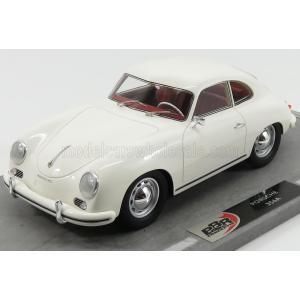 ポルシェ 356A ミニカー 1/18 BBR-MODELS - PORSCHE - 356A COUPE 1955 WHITE BBRC1820D