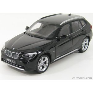 BMW X1 ミニカー 1/18 京商 KYOSHO - BMW - X1 2.8I E84 2010 BLACK SAPPHIRE MET 08791BKS|a-mondo2