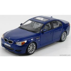 BMW ミニカー 1/18 マイスト MAISTO - BMW - 5-SERIES M5 2004 BLUE MET|a-mondo2