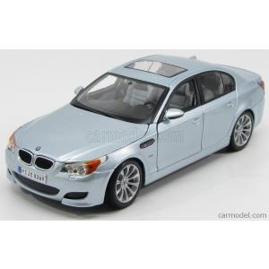 BMW ミニカー 1/18 マイスト MAISTO - BMW - 5-SERIES M5 2004 LIGHT BLUE SILVER|a-mondo2