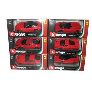 フェラーリ ミニカー セット 1/64 ブラーゴ Ferrari 6pc Diecast Car Set 1/64 by Bburago|a-mondo2