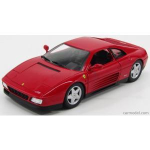 フェラーリ 348 エリート ミニカー 1/18 マテル ホットウィール MATTEL HOT WHEELS - FERRARI - 348TB 1989 RED ELITE SERIES|a-mondo2
